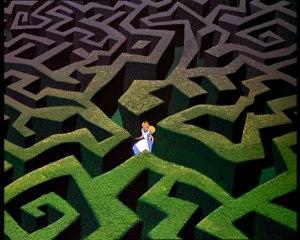 "Fotograma ""Alice no País das Maravilhas"" (Disney, 1951)"