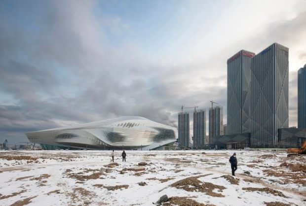 Dalian Congress Centre Coop Himmelb(l)au ArchitectsDalian, China
